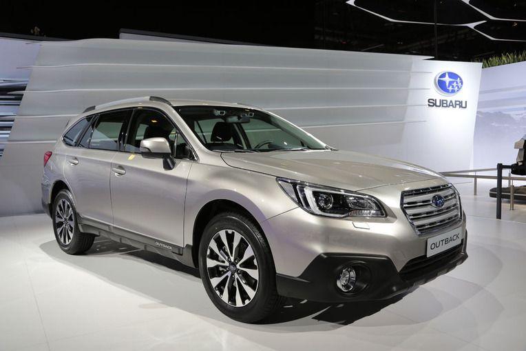 Новый Subaru Outback на 85 Международном Женевском автосалоне